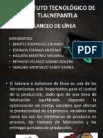 BALANCEO DE LINEAS_PRESENTACIÓN
