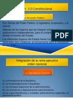 unidad 3c rama ejecutiva estructura y organización
