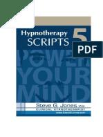98284789 Hypnotherapy Scripts 5 Steve g Jones eBook