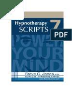 98284838 Hypnotherapy Scripts 7 Steve g Jones eBook