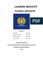 RPP & SILABUS DEDUKTIF