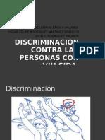 Discriminacion Contra Las Personas Con Vih Sida
