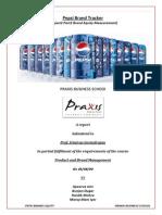 Pepsi Brand Equity Measurement