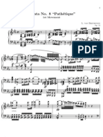 Sonata pathetique Nº8 1st Movement