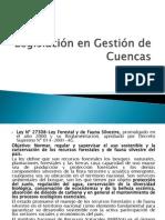Legislación en Gestión de Cuencas