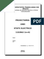 Proiectarea Unei Statii Electrice 110 6kV