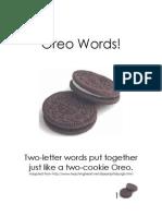 Oreo Words