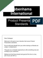 Merchandising Standards Part 1