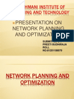 Network Planning and Optimization Using Atoll