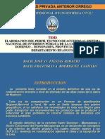 Exposicion de Tesis Grado