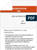Job Satisfaction Ppt