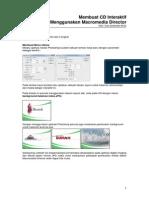 Membuat CD Interaktif Menggunakan Macromedia Director