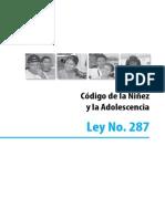 Codigo de La Ninez Nicaragua