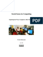 Social Issues in Computing