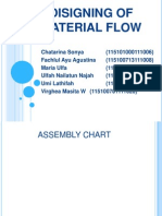 Disigning of Material Flow