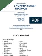 Ulkus Kornea Dengan Hipopion