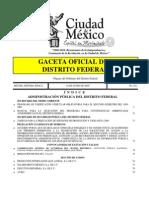 Programa de Verificacion Vehicular Obligatoria Para El Segundo Semestre Del 2009 Distrito Federal