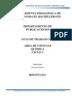 Guia 4 Ciclo 5 - Estequiometria - Cies