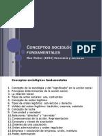 Conceptos sociológicos fundamentales