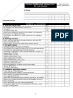 Audit Checklist 2012 Revised 090412 Cjb
