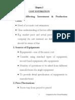 cost estimation-1