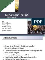 TATA's Singur Incident