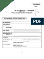Form 003(1) - Aplikasi Karyawan.doc