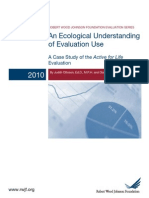 An Ecological Understanding of Evaluation Use