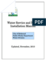 Water Service Installation Manual