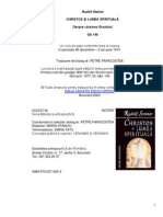 Rudolf Steiner-Christos Si Lumea Spirituala