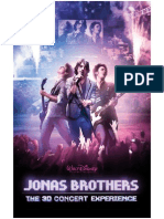 Jonas Brothers Production Notes