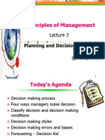 Lecture 3 -Principles of Management