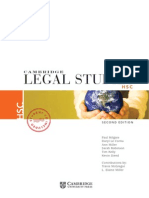 Cambridge Legal Studies HSC Textbook