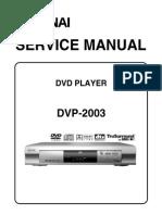 Dvp 2003 Service Manual