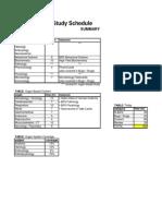 USMLE Schedule 001