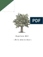 Napoleon Hill – De la idee la bani (prezentare)