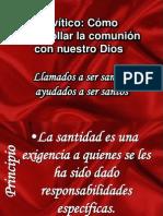Levítico santidad practica XVIII IBE Callao