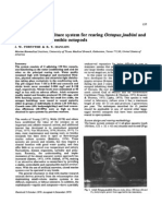 A Closed Marine Culture System for Rearing Octopus Joubini