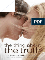 The Thing About Truth - Lauren Barnholdt