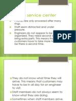 Failing Service Center