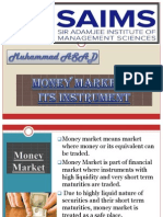 MOney Market and its instruments