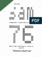 The SAM76 Language (Language Similar to TRAC)