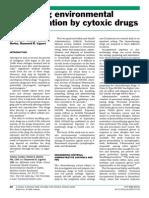 Assessing Environmental Contamination by Cytoxic Drugs