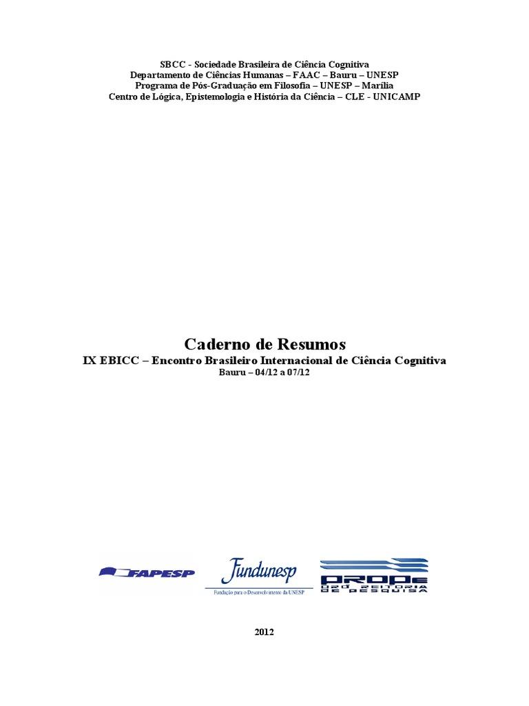 Caderno de resumos ebicc versaofinal fandeluxe Image collections