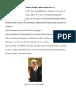 Curriculum Ultrabreve Dott.ssa Anna Muscatello - Comitato Scientifico CIS