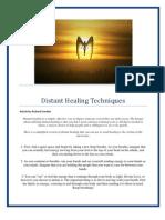 Distant Healing Techniques