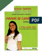 Manual_cursos Tecnicos Forma Integrada_2014