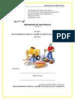 15- PROCEDIMIENTO PARA EL DISEÑO DE MEZCLAS DE CONCRETO.doc
