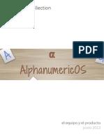AlphanumericOS y El Equipo