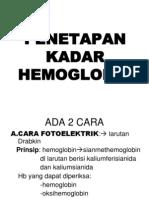 1. Presentation Praktikum Hb Dan Hitung Eritrosit
